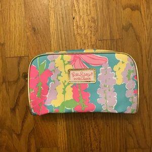 3/$25💖 Lilly Pulitzer Estée Lauder cosmetic bag